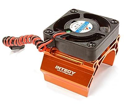 Integy RC Hobby C25791ORANGE High Speed Cooling Fan+Heatsink Mount for 40mm O.D. Motor