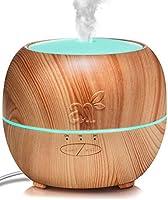 ArtNaturals Aromaterapia Difusor de Aceites Esenciales - (5.0 Fl Oz/150ml) - Humidificador de Vapor Frío - Auto Shut Off - 7 Colores de LED, Para Bebé, Yoga, Oficina, Hogar, Dormitorio y Baño