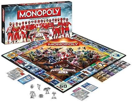 USAopoly – Monopoly Power Rangers: Amazon.es: Juguetes y juegos