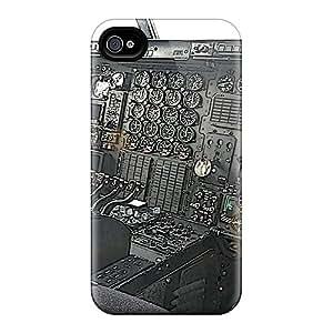 RandileeStewart Apple Iphone 4/4s Scratch Protection Mobile Covers Custom High-definition C 130 Cockpit Series [YtU6302OhLh]
