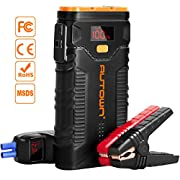 #LightningDeal Jump Starter, AUTOWN 2000A Peak 20800mAh Car Jump Starter with Quick Charger, 12V Auto Battery Booster Portable Power Pack with LED Light,LCD Screen and Type-C Cable