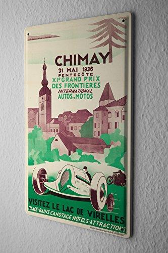 tin-sign-vintage-car-chimay-race
