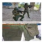 HXSZWJJ Uniformes Tactiques Hommes Ripstop Tenue de Camouflage Militaire Ensembles Costumes de sécurité de Combat… 10