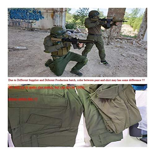 HXSZWJJ Uniformes Tactiques Hommes Ripstop Tenue de Camouflage Militaire Ensembles Costumes de sécurité de Combat… 4