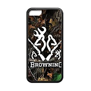 Browning Camo Deer Hunter fashion plastic phone case for iPhone 5c
