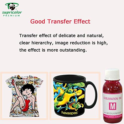 Supricolor Sublimation Ink (non-OEM) Refillable Cartridges, CISS Heat Transfer, 400 ml for Stylus C68 C88 CX3800 CX3810 CX4200 CX4800 CX5800 CX7800 T060 Photo #2