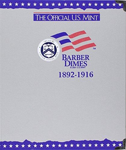 The Official U.S. Mint Barber Dimes Coin Album: 1892-1916