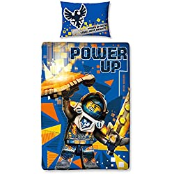 Lego Nexo Knights Power Panel Duvet Cover Set