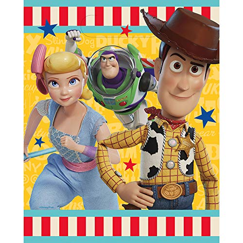 Unique Industries Disney Toy Story 4 Movie Loots Bags (8 Per Package)