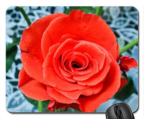 Infra red rose Mouse Pad, Mousepad (Flowers Mouse Pad) ()