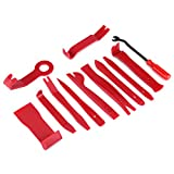 12pcs/Set Auto Trim Removal Tool Plastic Car Radio Door Clip Panel Audio Dismantle Install Pry Tools Kit Car Repair Tool Kit