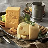 Sharp Cheddar & Baby Swiss Buy 3 lb. Cheddar and 3 lb. Swiss from Wisconsin Cheeseman