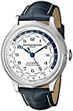 Baume & Mercier Men's BMMOA10106 Capeland World Timer Analog Display Swiss Automatic Blue Watch