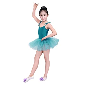 6b5cb74515735 SMILEQ Baby Dance Dress Toddler Strap Girl Gauze Leotard Ballet Bodysuit Dancewear  Dress Clothes Outfits For