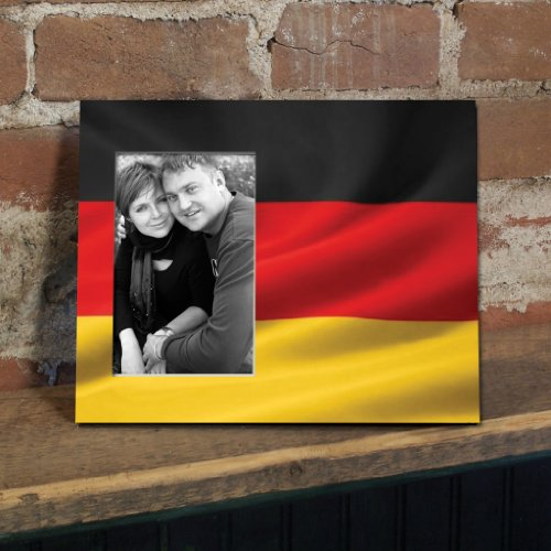 German Flag Picture Frame Holds product image