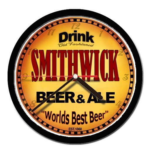 SMITHWICK beer and ale cerveza wall clock