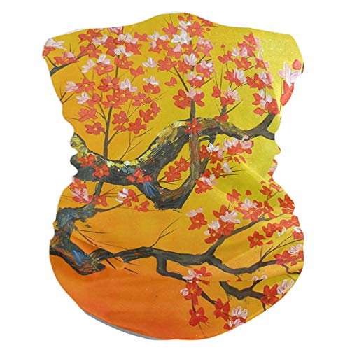 NMCEO Headband Original Flowers Oil Painting Trees Headwear Sport Turban/Headkerchief/Sweatband for Unisex Outdoor Activities