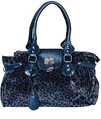 Women's Tote Handbag Cheetah design with detachable pouch