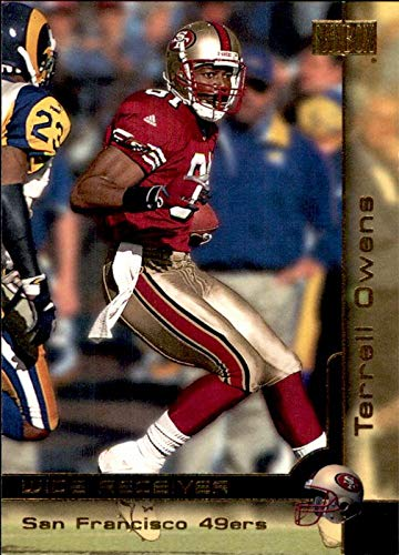 Terrell Owens San Francisco 49ers HOF 2018 Hall of Fame 2000 Skybox #184 NFL Football Card