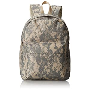 Everest Digital Camo Backpack, Digital Camouflage, One Size