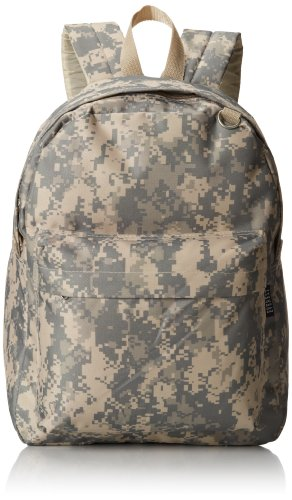 Everest Digital Camo Backpack, Digital Camouflage, One Size (Digital Backpack Camouflage)