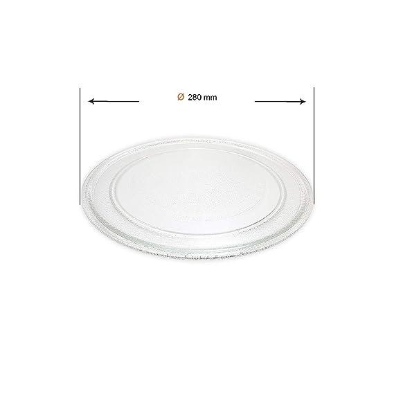 Recamania Plato microondas LG MH6342DS MJS62593401: Amazon.es