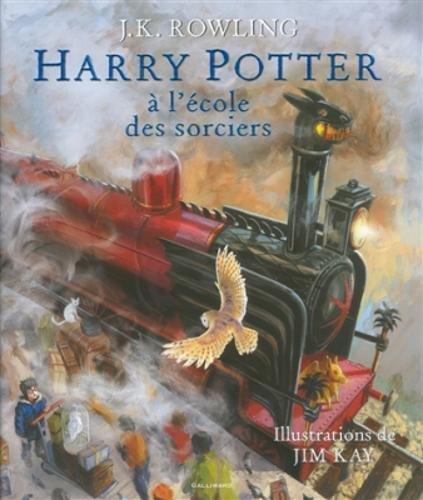 Harry Potter à l'école des sorciers - Beau-livre collector Broché – 22 octobre 2015 J. K. Rowling Jim Kay Jean-François Ménard Gallimard Jeunesse