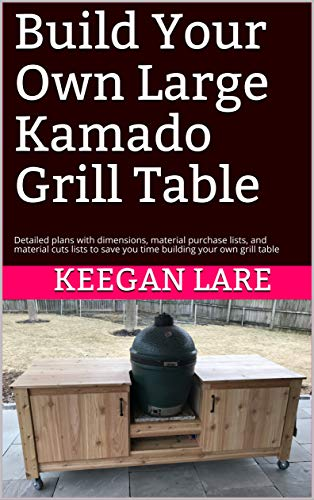 Amazon Com Build Your Own Large Kamado Grill Table