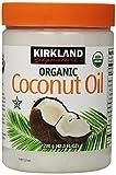 Kirkland Signature Organic Coconut Oil Cold Pressed Unrefined 42.3 Fl oz