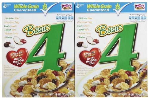 Basic Four Cereal, 16 oz, 2 - 4 Basic Cereal