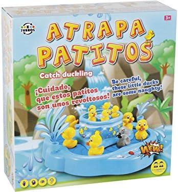 XTURNOS Juego de Mesa Atrapa Patitos 12X32X34CM: Amazon.es: Juguetes y juegos