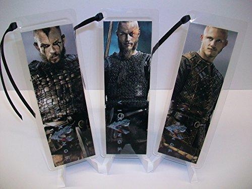 VIKINGS Bookmark Set of 3 Collectible Memorabilia complements poster comic book TV