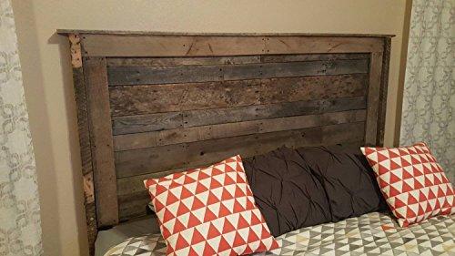 Pallet Wood Headboard