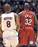 Signed Bryant, Kobe / O'Neal, Shaquille 8x10 Photo By Kobe Bryant and Shaquille O'Neal autographed
