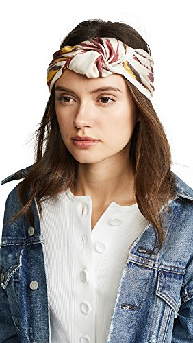 Jennifer Behr Women's Marin Turban Headband, Terra Cotta, One Size by Jennifer Behr