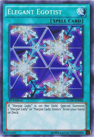 Yu-Gi-Oh! - Elegant Egotist (LCJW-EN098) - Legendary Collection 4: Joey's World - 1st Edition - Super Rare