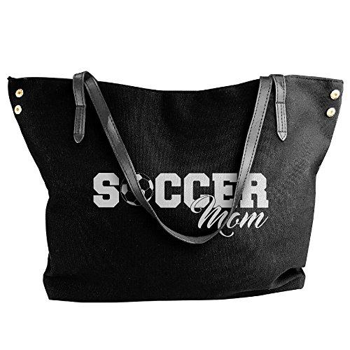 Lady Soccer Mom I Love Soccer Shoulder Bag