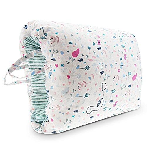 Epltion Travel Nursing Pillow for Breastfeeding/Arm Breastfeeding Pillow for C-Sections Mom/Portable Washable Nursing Pillow Rabbit by Epltion