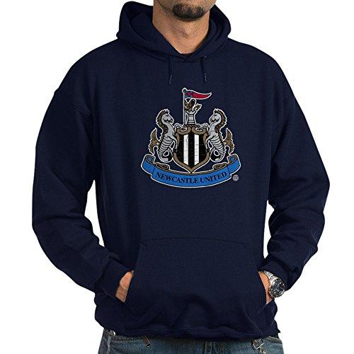 (CafePress Vintage Newcastle United FC Crest Pullover Hoodie, Classic & Comfortable Hooded Sweatshirt Navy )