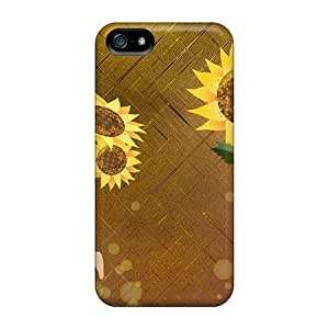 High-quality Durability Case For Iphone 5/5s(scattering Sunflower Petals)