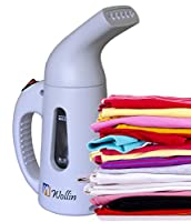Clothing steamer - Handheld Garment Fabric & Cloths Steamers - For Travel & Home - Portable, Lightweight - Fast Heat Up & Remove Wrinkles - Spit Free - ETL Certificate