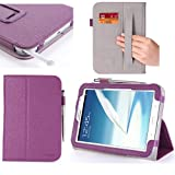 i-Blason Auto Wake/Sleep Case and Cover for Samsung Galaxy Note 8.0 GT-N5100/N5110 Wifi 4G LTE (Three Year Warranty)-Purple
