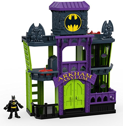 Fisher Price Imaginext Friends Arkham Playset