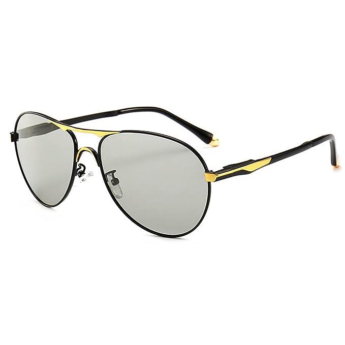 Gafas de sol Hombre Polarizado Gafas de sol d¨ªa + noche visi¨n