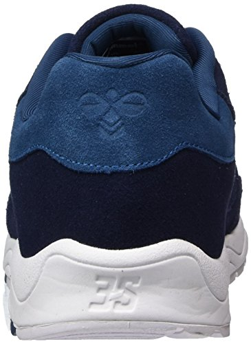 Hummel Unisex Adults' 3-s Suede Trainers Blue (Peacoat 7666) from china cheap online looking for sale shop for sale 2014 new real EmZ7w9