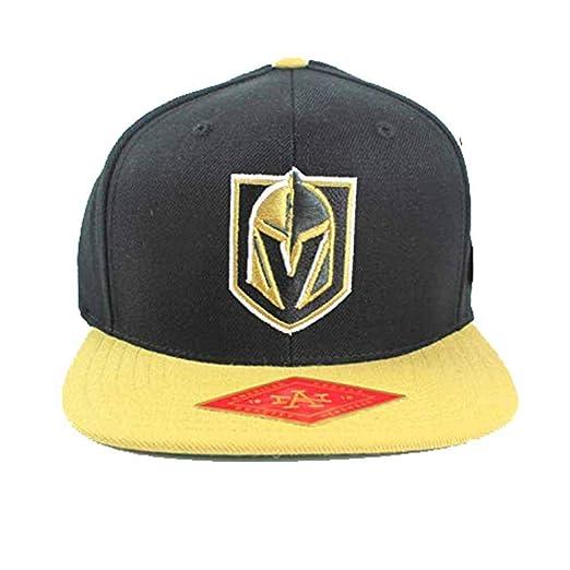 Amazon.com  Vegas Golden Knights 400 Series Adjustable Snapback Hat ... b9909307ea0f