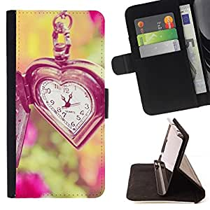 Momo Phone Case / Flip Funda de Cuero Case Cover - Waits été Vignette profonde - Sony Xperia M4 Aqua