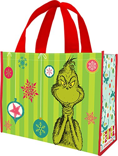 (Dr. Seuss Grinchmas Large Recycled Shopper)