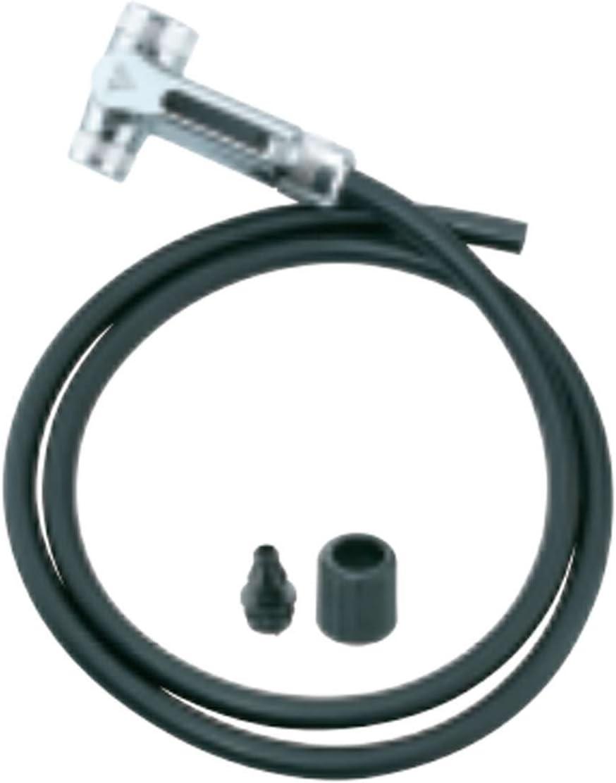 Topeak Floor Pump Twinhead DX Upgrade Kit with Smarthead DX1 Full Metal Head Hose