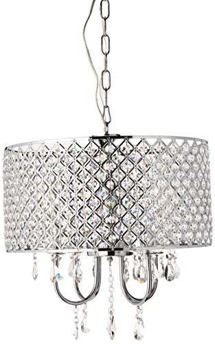 Whse of Tiffany RL5633 Deluxe Crystal Chandelier - Crystal Polished Lighting